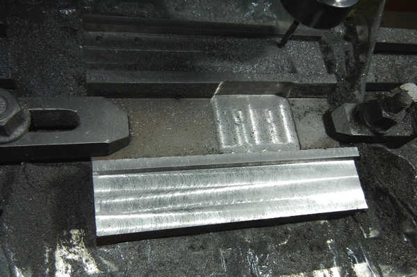 Saddle, initial machining